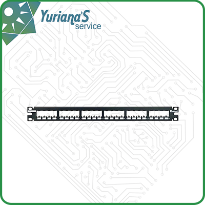 PATCH PANEL MODULAR F/UTP X 24 PUERTOS DE 1 RU PANDUIT ...